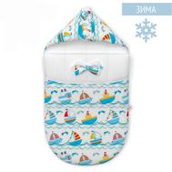 Конверт нового поколения Farla Joy Кораблики зима, фото 1