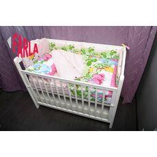 Комплект постельного белья для новорожденного Farla Dino 6 предметов