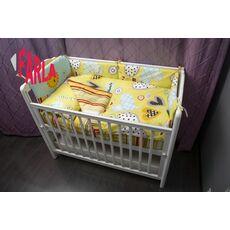 Комплект постельного белья для новорожденного Farla Heart 6 предметов