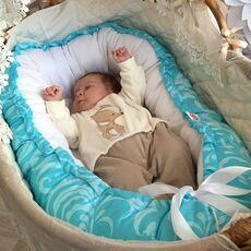 Кокон-Гнездышко для новорожденного Farla Nest Бриз