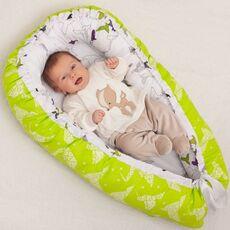 Подушка-Кокон для младенца Farla Nest Журавли