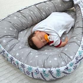 Кокон-Гнездышко для малыша Farla Nest Морской сон