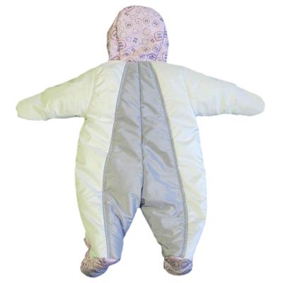 Комбинезон для новорожденных, Бело-Розовый, фото 2