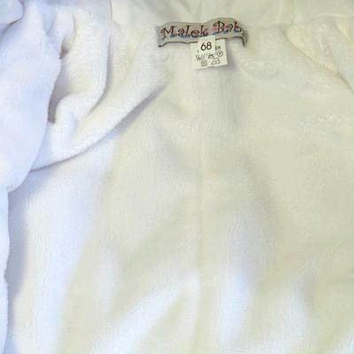 Комбинезон для новорожденных, Бело-Розовый, фото 4