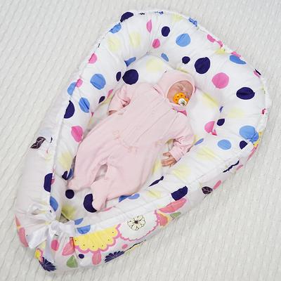 Кокон-Гнездышко для новорожденного Farla Nest Цветочный, фото 1