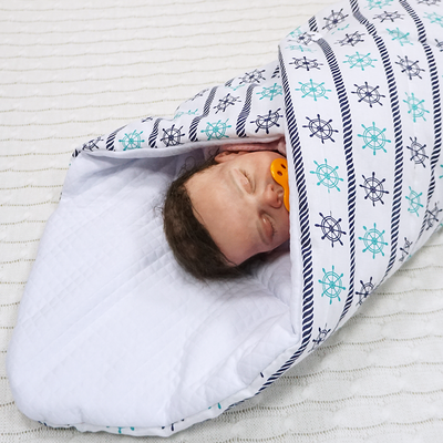 Конверт-одеяло Farla Dream Штурвалы, фото 2