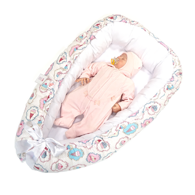 Кокон-Гнездышко для малыша Farla Nest Кексики, фото 3