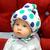 Шлем для защиты головы малыша Mild Горошинки, фото 1