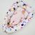 Кокон-Гнездышко для новорожденного Farla Nest Цветочный, фото 2